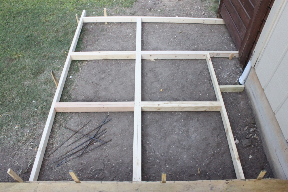 Concrete Paver Frames that our Contractors Made
