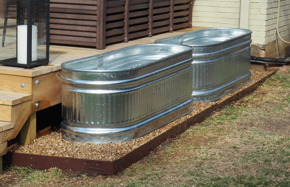 Galvanized Horse Troughs The Cavender Diary