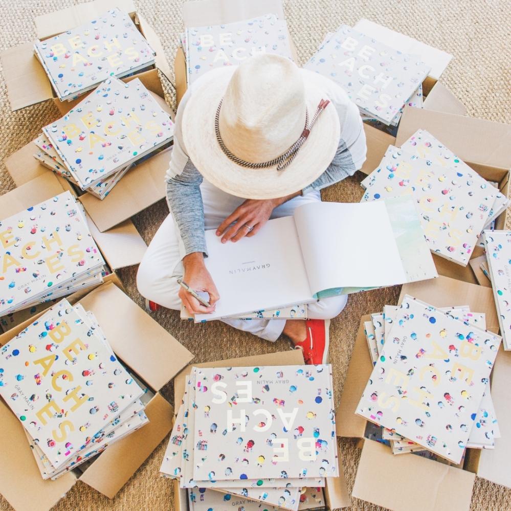 Gray Malin Signing Books