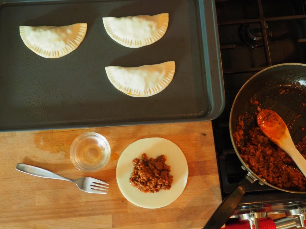 Assembling the Empanadas