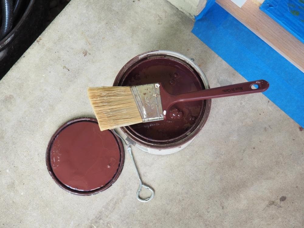 Chocolate Brown Paint