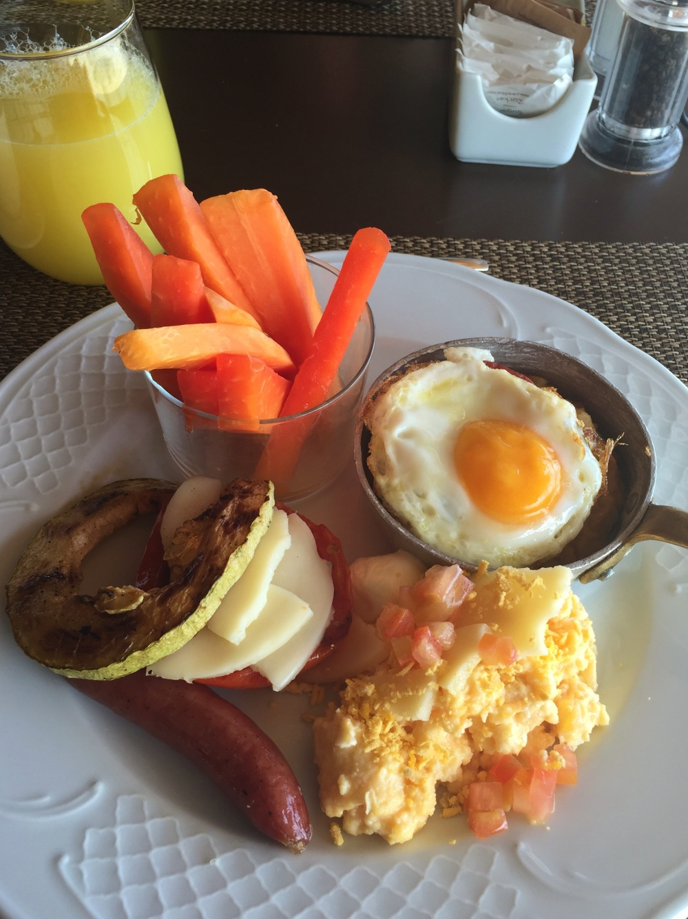 Hearty Caribbean Breakfast