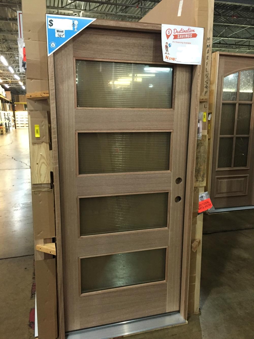Modern Front Door at Seconds and Surplus