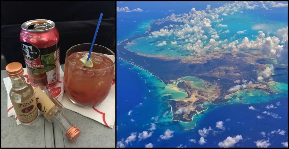 Punta Cana Airplane Collage