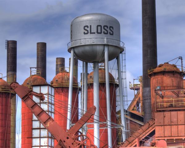 sloss-furnace-water-tower