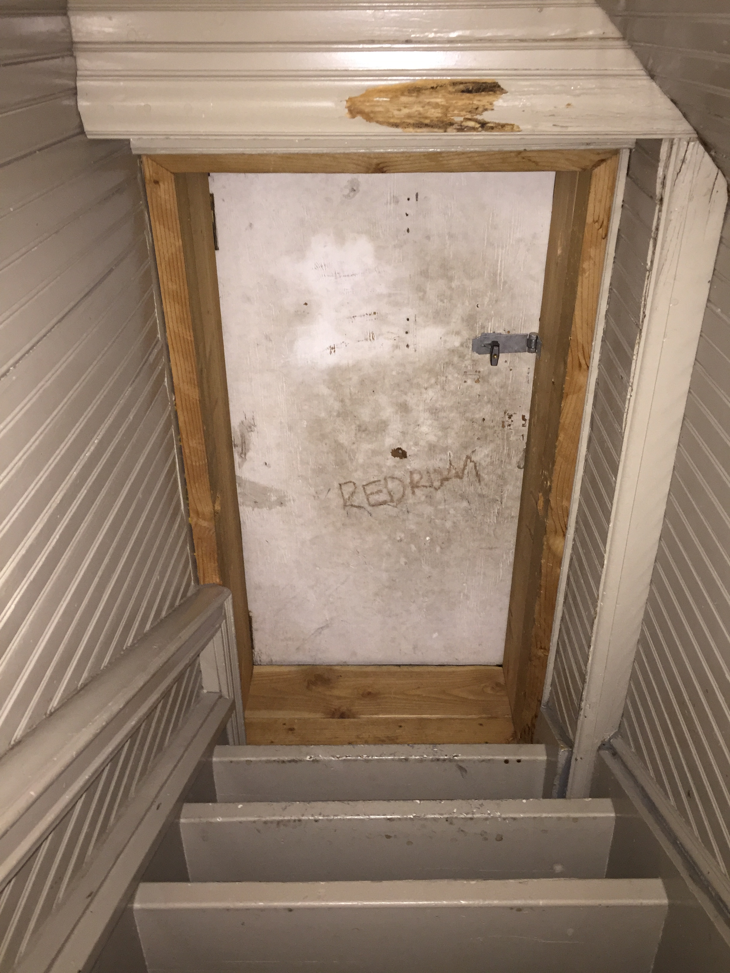 redrum-on-door-to-stanley-hotel-bell-tower & Oh Yeah We Went There\u2026 | THE CAVENDER DIARY