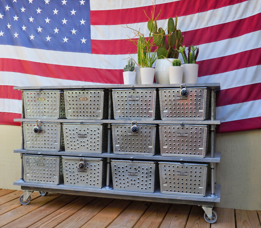 locker-basket-dresser-with-cacti-and-flag