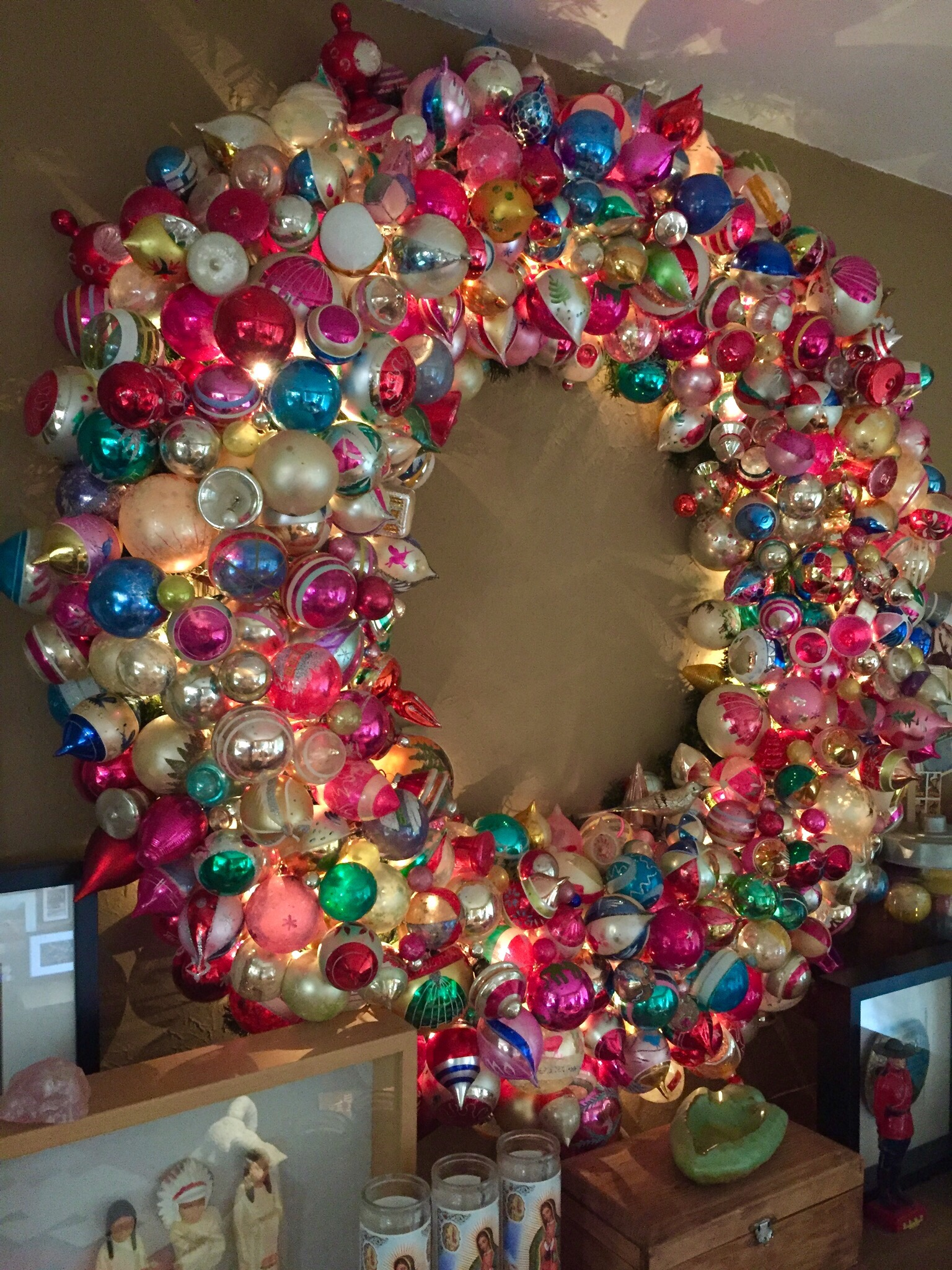 The Big Ornament Wreath for 2016 | THE CAVENDER DIARY