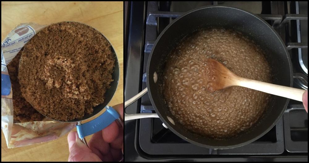 making-brown-sugar-simple-syrup-collage