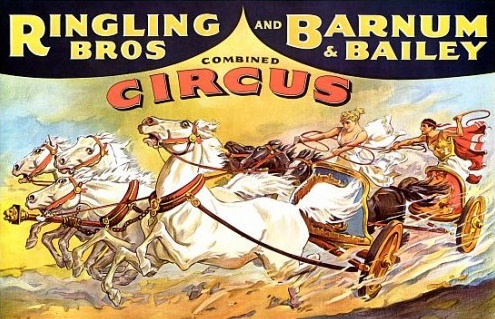 Ringlig Bros Chariot Poster