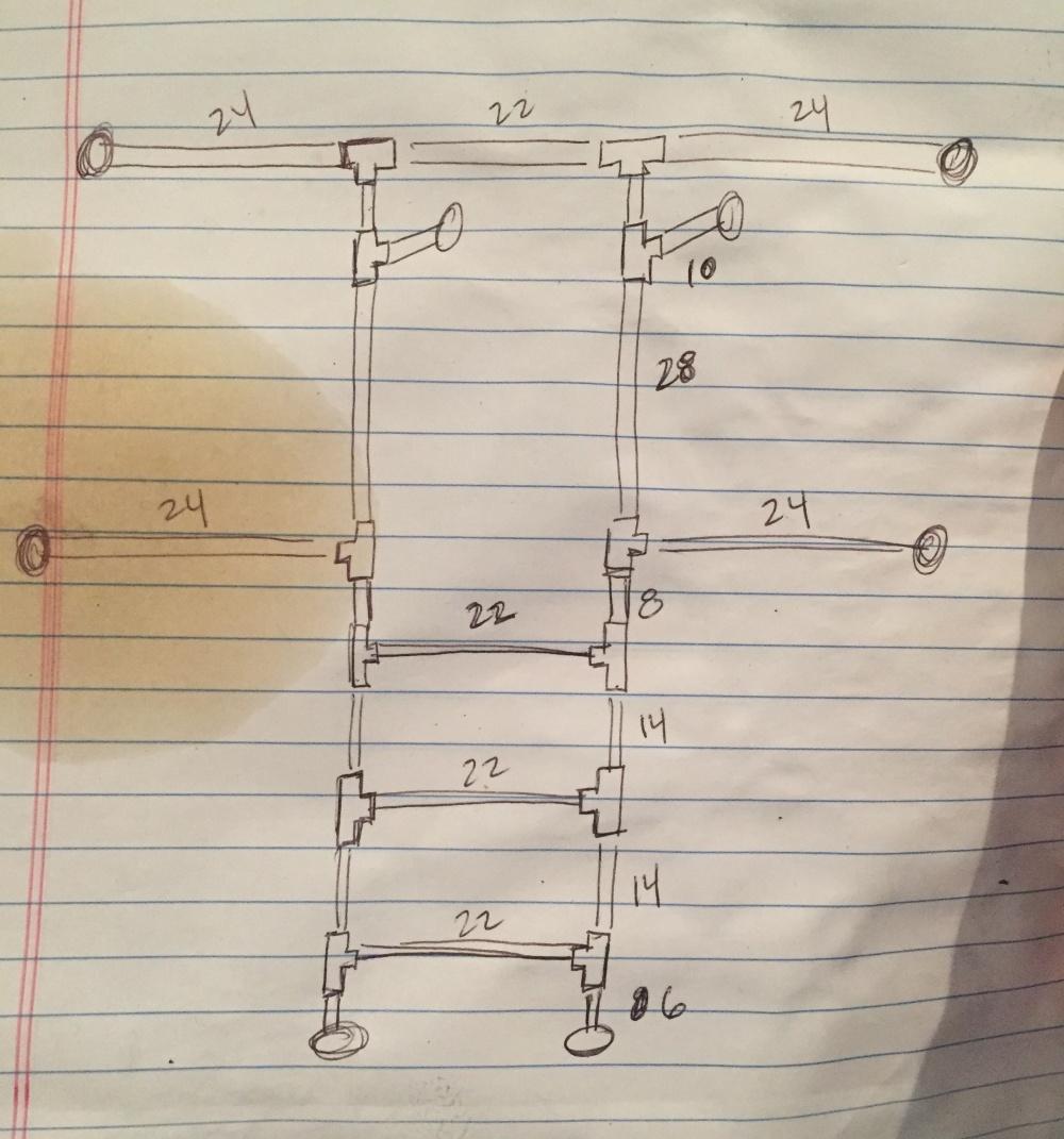 Closet Pipe Sketch