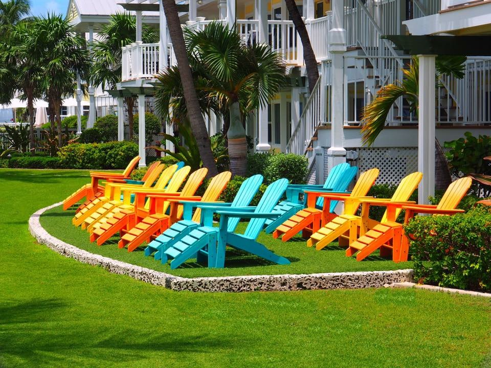 Adirondack Chairs at the Southernmost Resort