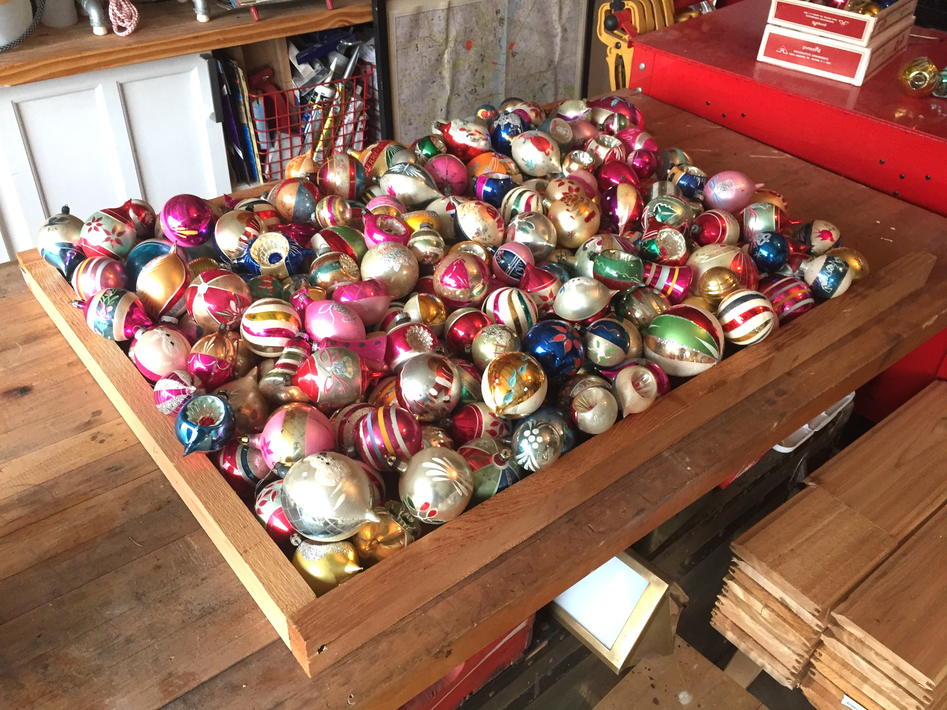 Vintage Ornaments Ready to Shoot