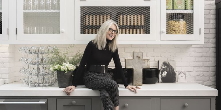 Diane Keaton in the House that Pinterest Built