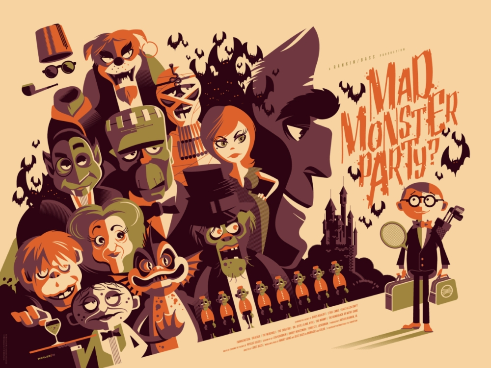 Mad Monster Party Promo Poster