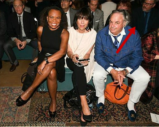 Me and Bo at the Ralph Lauren 50th Anniversary Collection Show