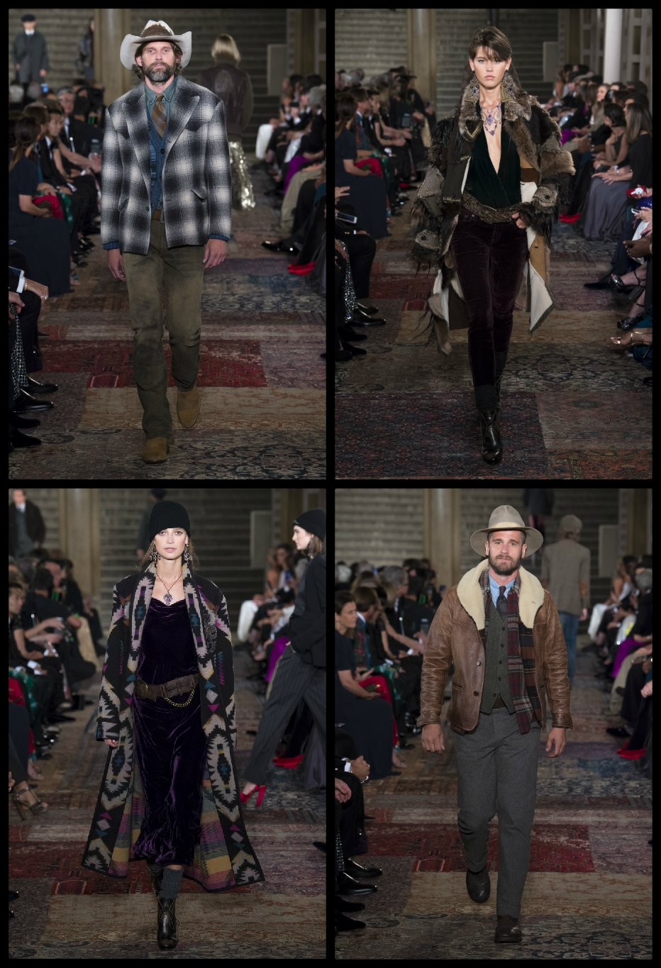 Ralph Lauren 50th Anniversary Collection Collage 2