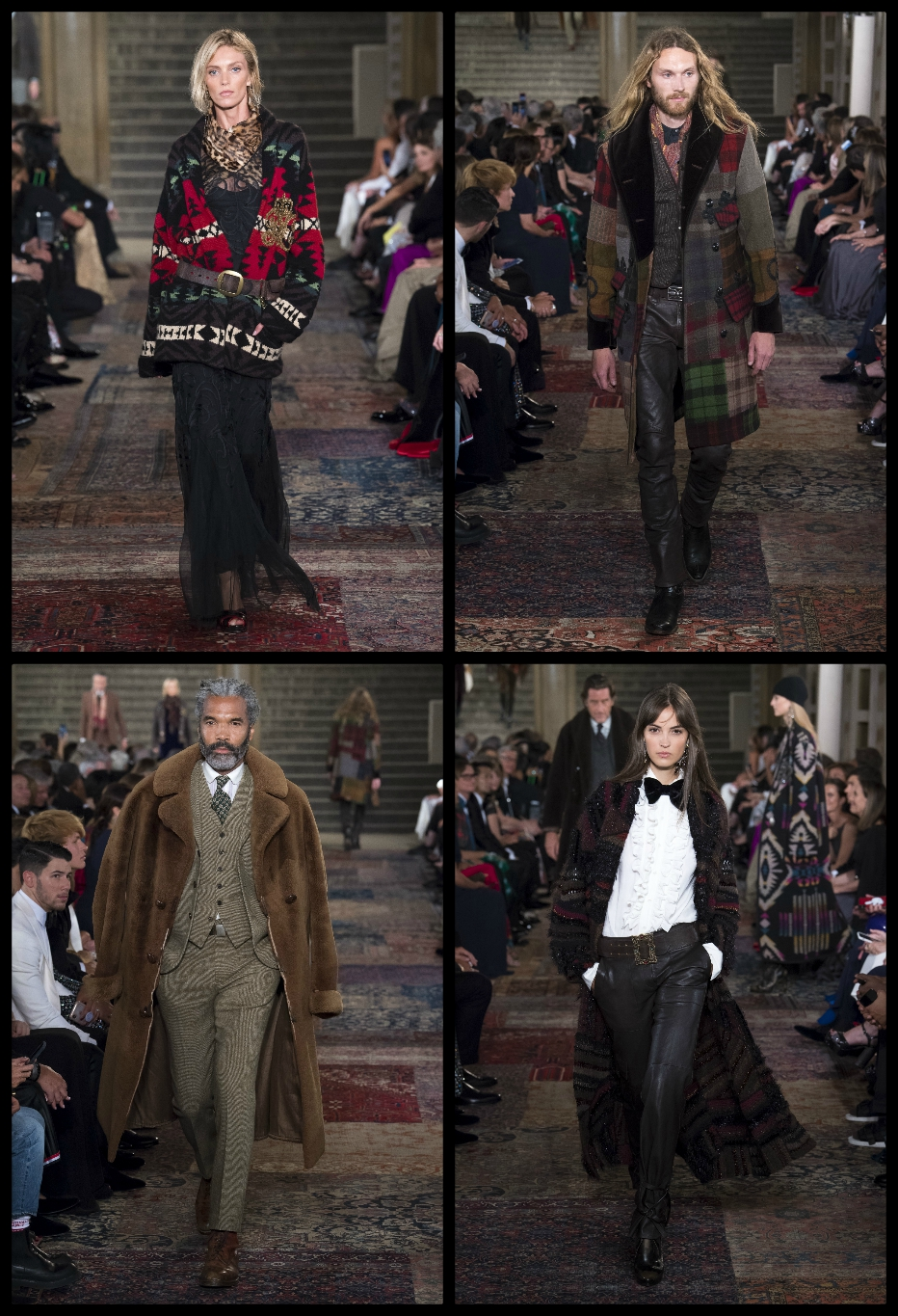 Ralph Lauren 50th Anniversary Collection Collage