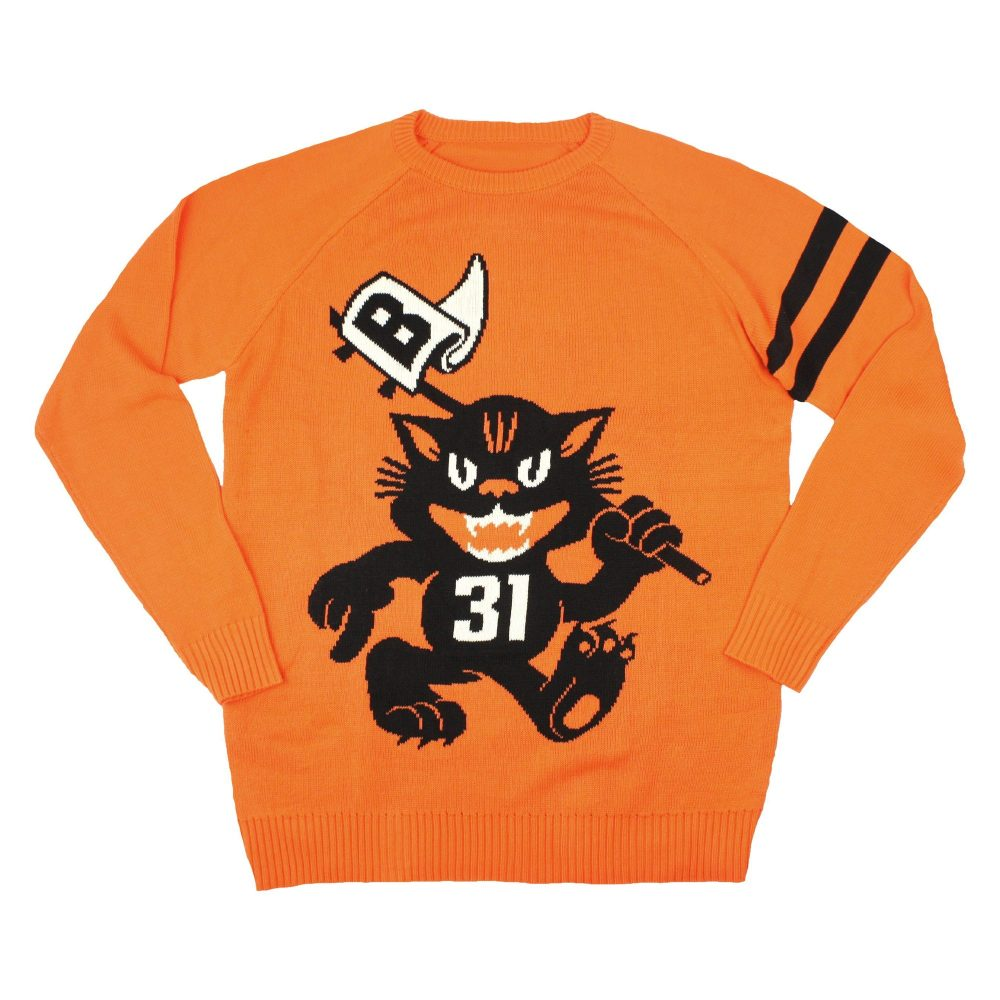 Beistly Fighting Scratch Cats Knit Sweater