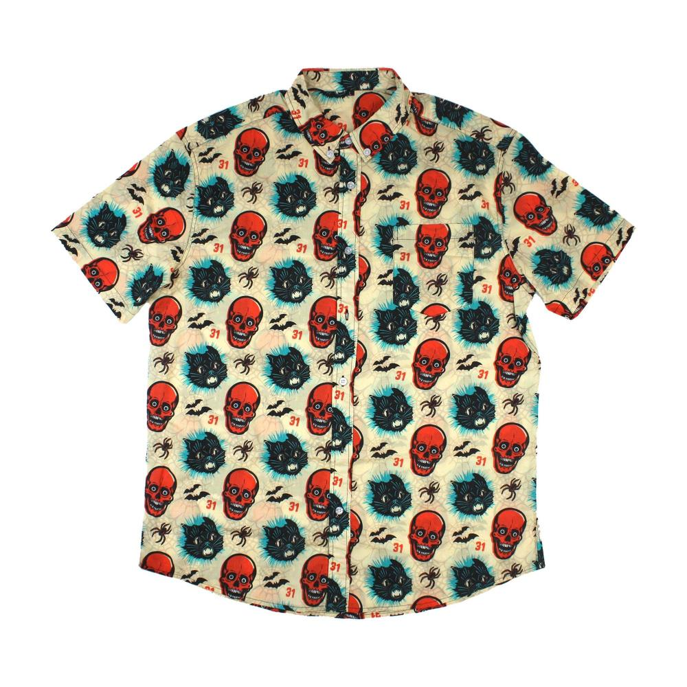 Beistly Simply Spooky Button-Up Shirt