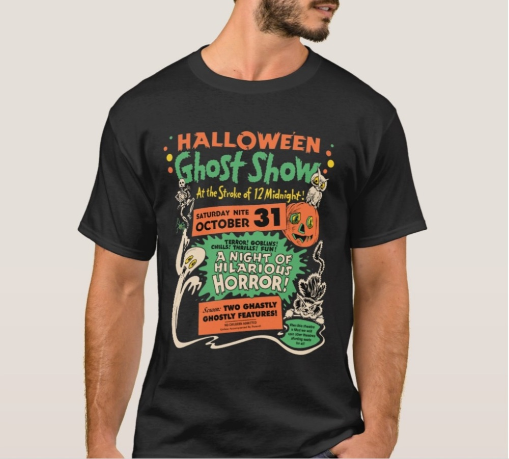 Zazzle Ghost Show T-Shirt