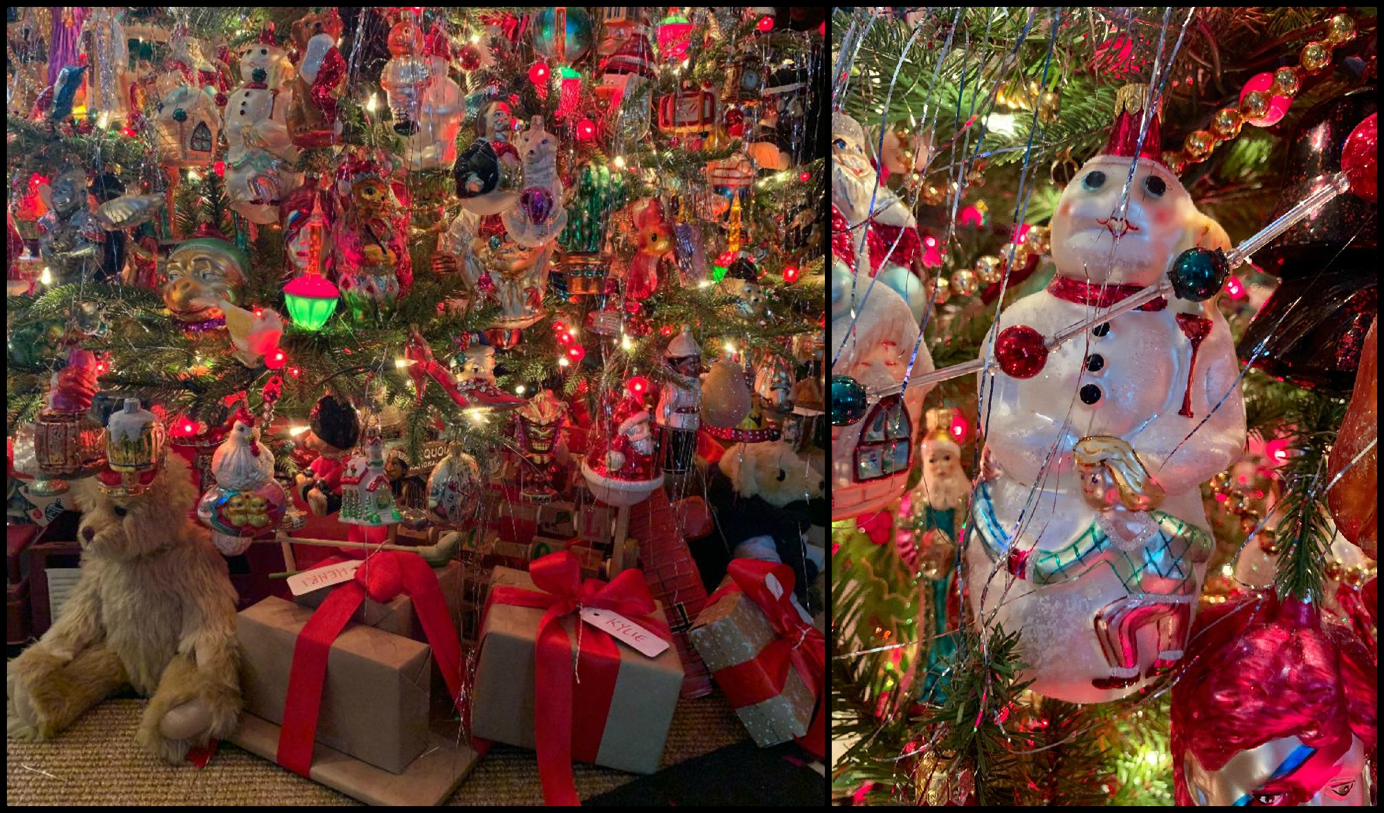 Radko Christmas Tree 2018 Collage