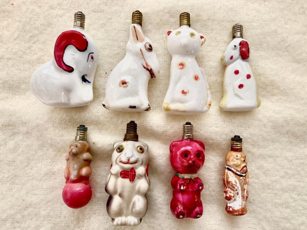 Figural Bulb Animals