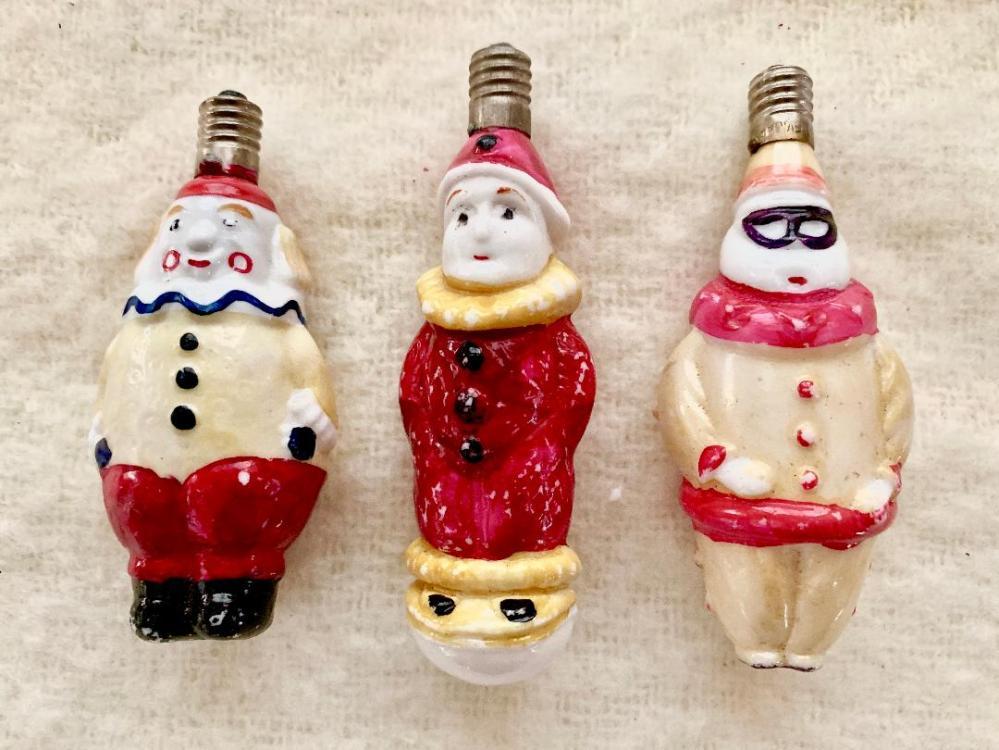 Figural Bulb Clowns