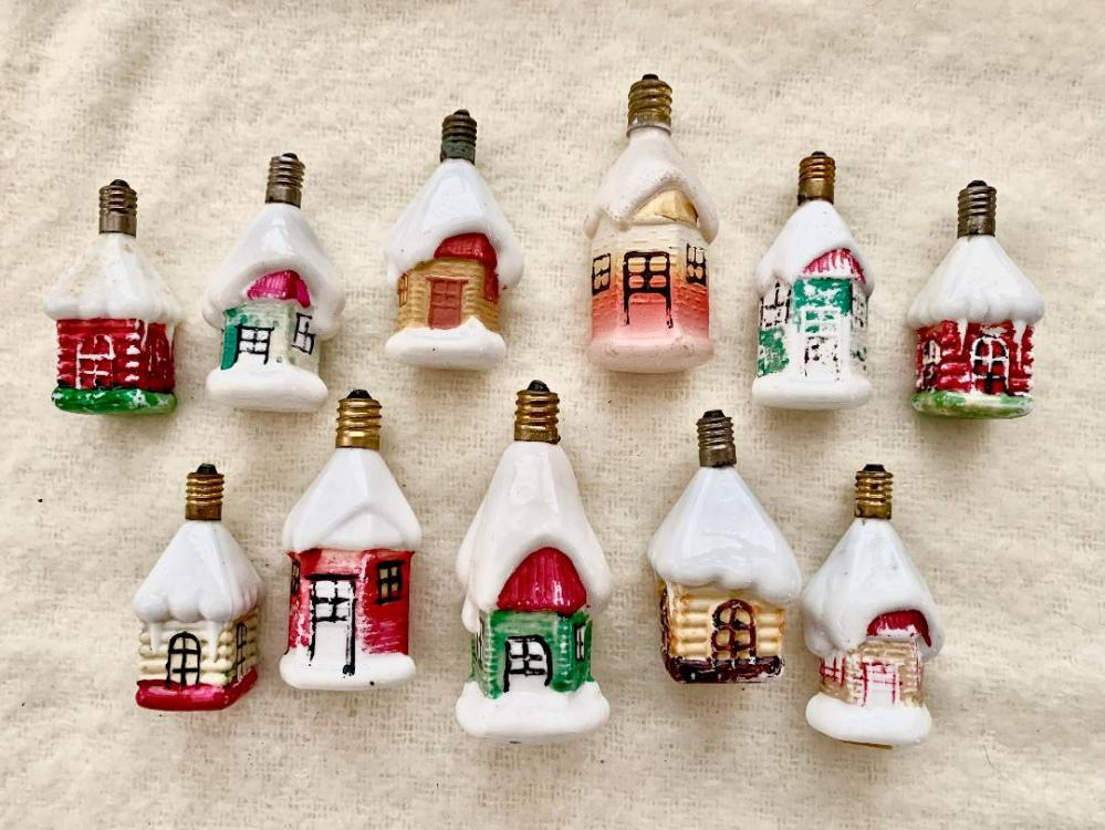 Figural Bulb Houses