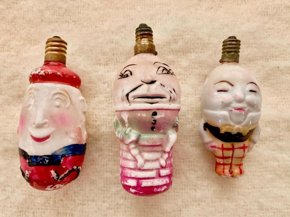 Figural Bulb Humpty Dumptys