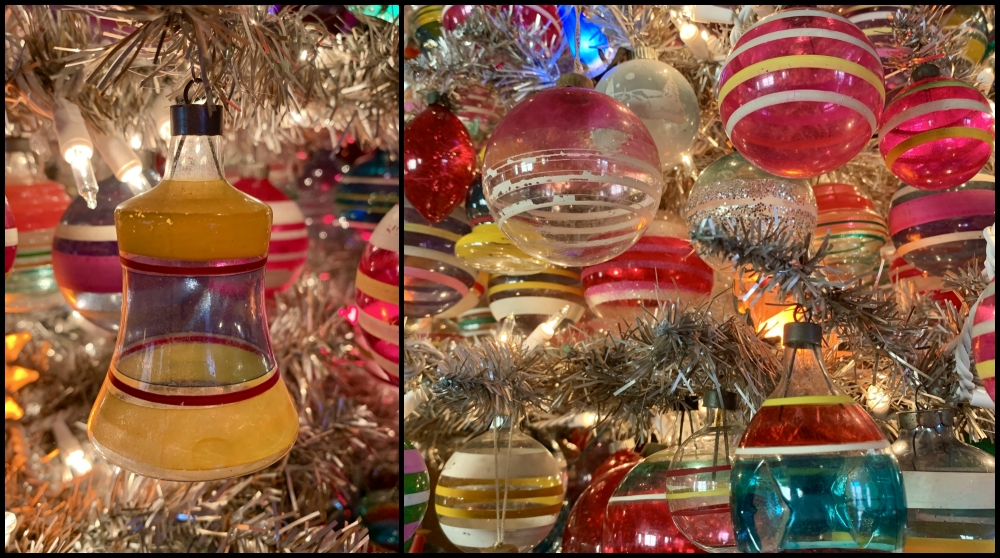 War-Era Ornament Tree Collage