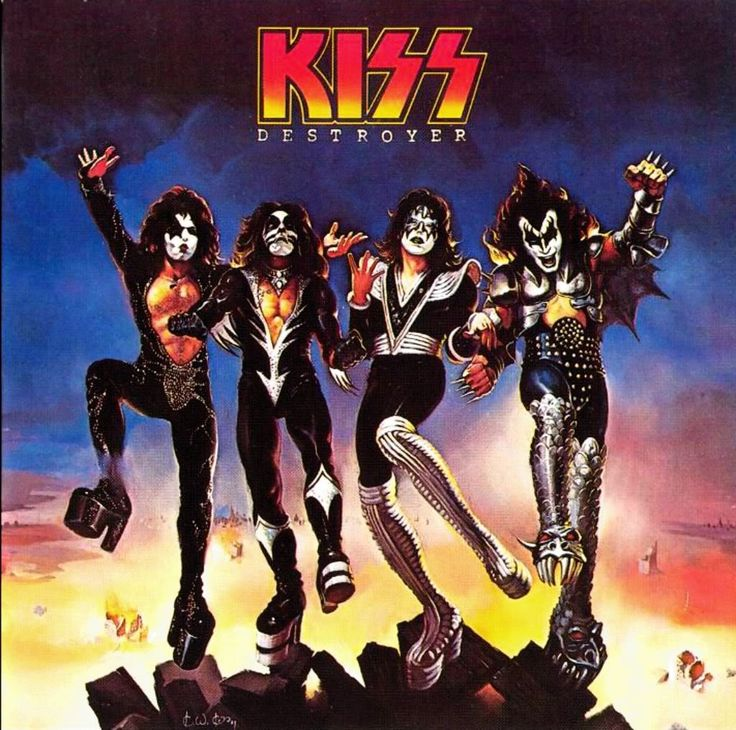 KISS Destroyer Album