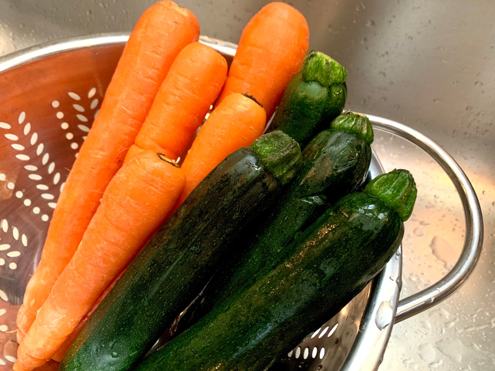Carrots and Zucchini