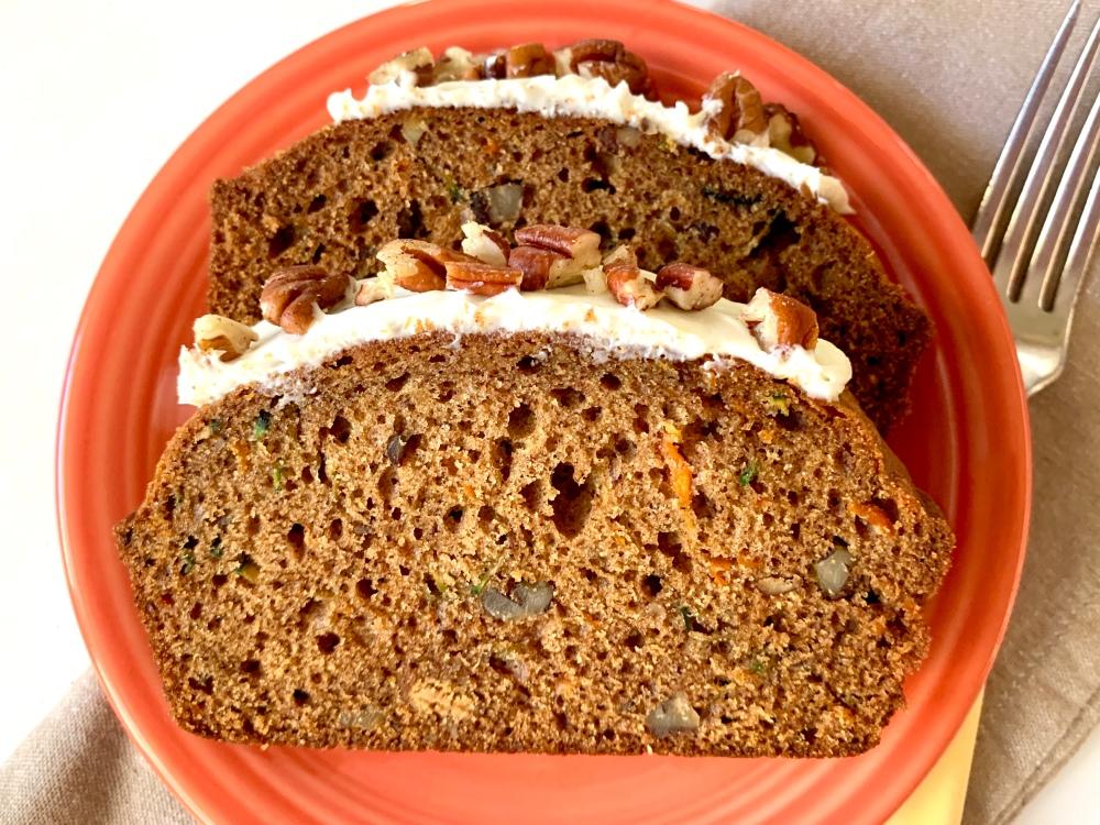 Zucchini Carrot Bread 3