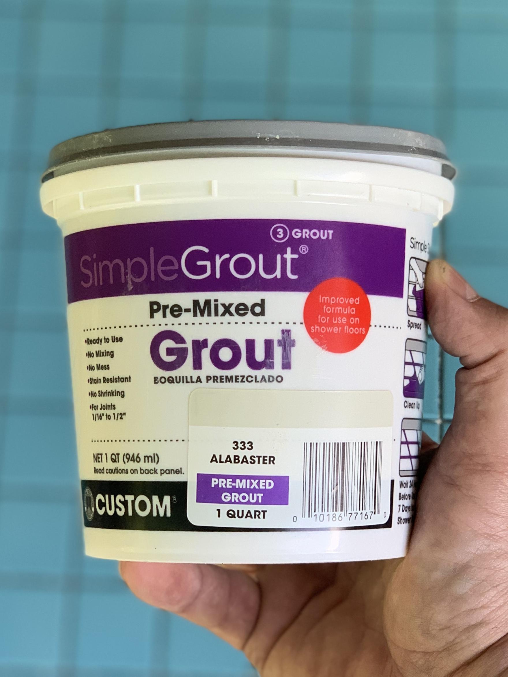 Alabaster Grout