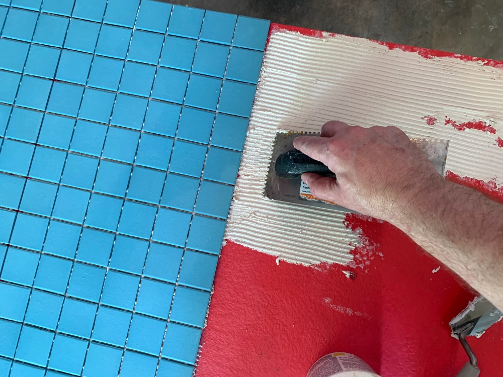 Applying the Turquoise Tile