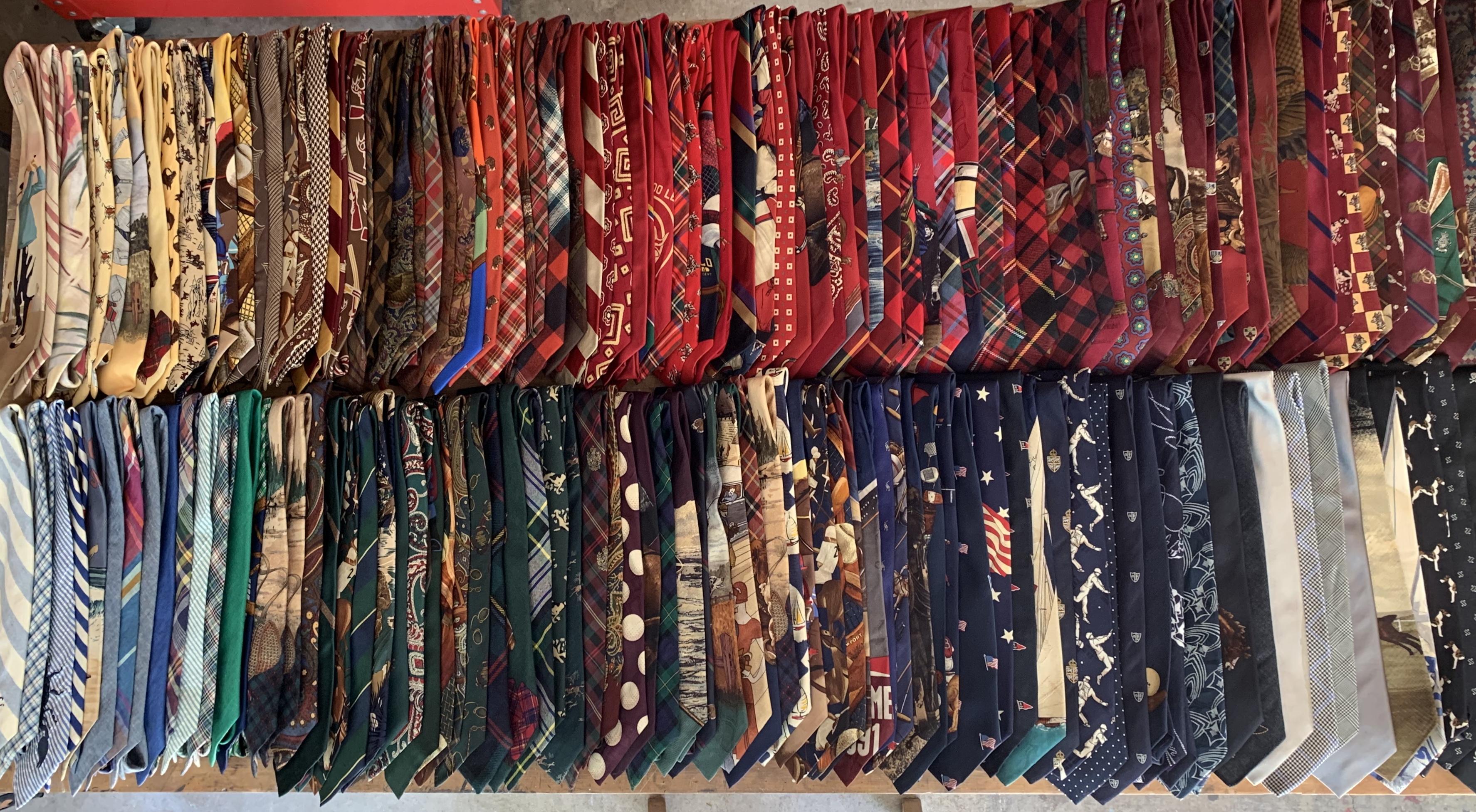 Assortment of Old Polo Ralph Lauren Ties