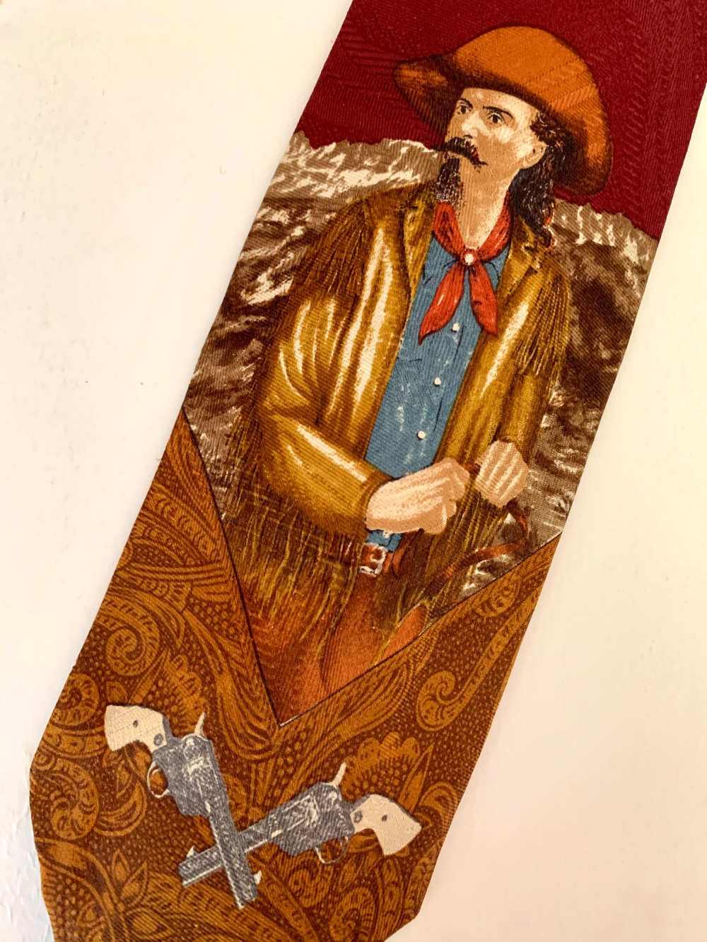 Buffalo Bill on Vintage Polo Tie