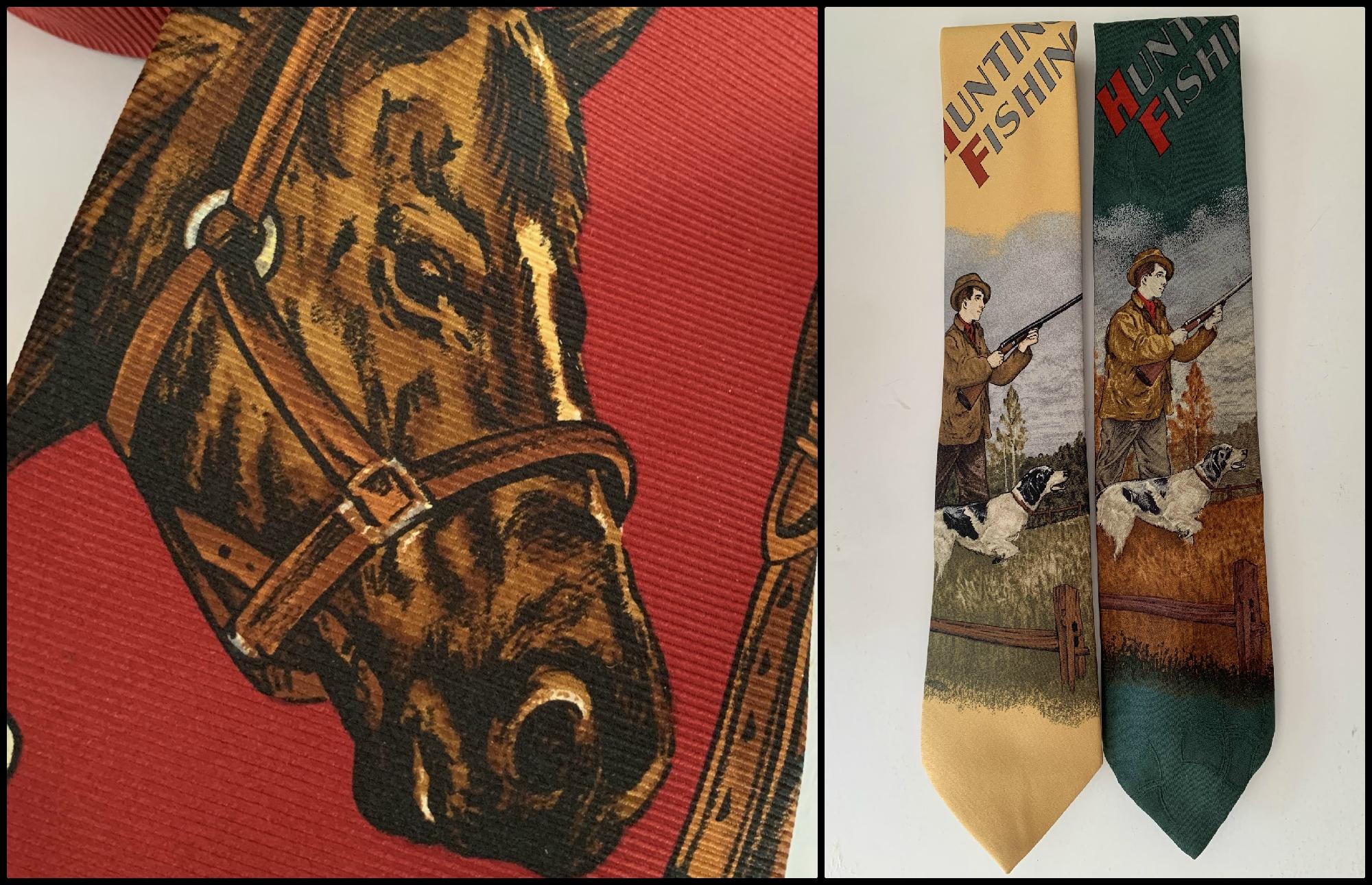 Conversational Tie Collage 4