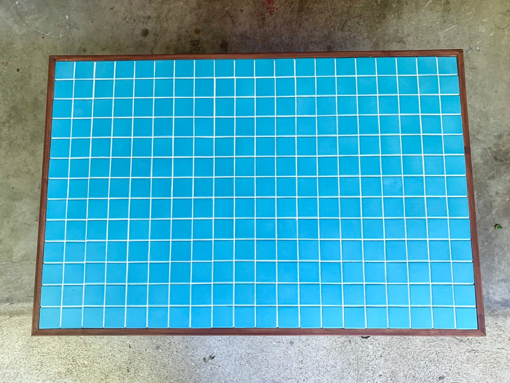 Finished Tile Table