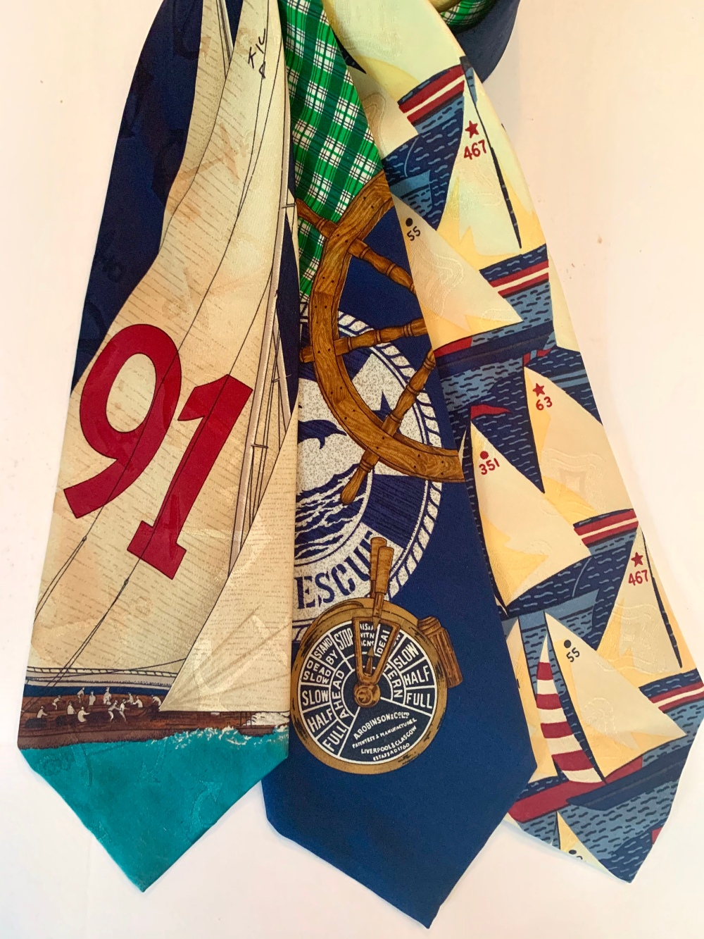 Nautical Ralph Lauren Conversational Ties