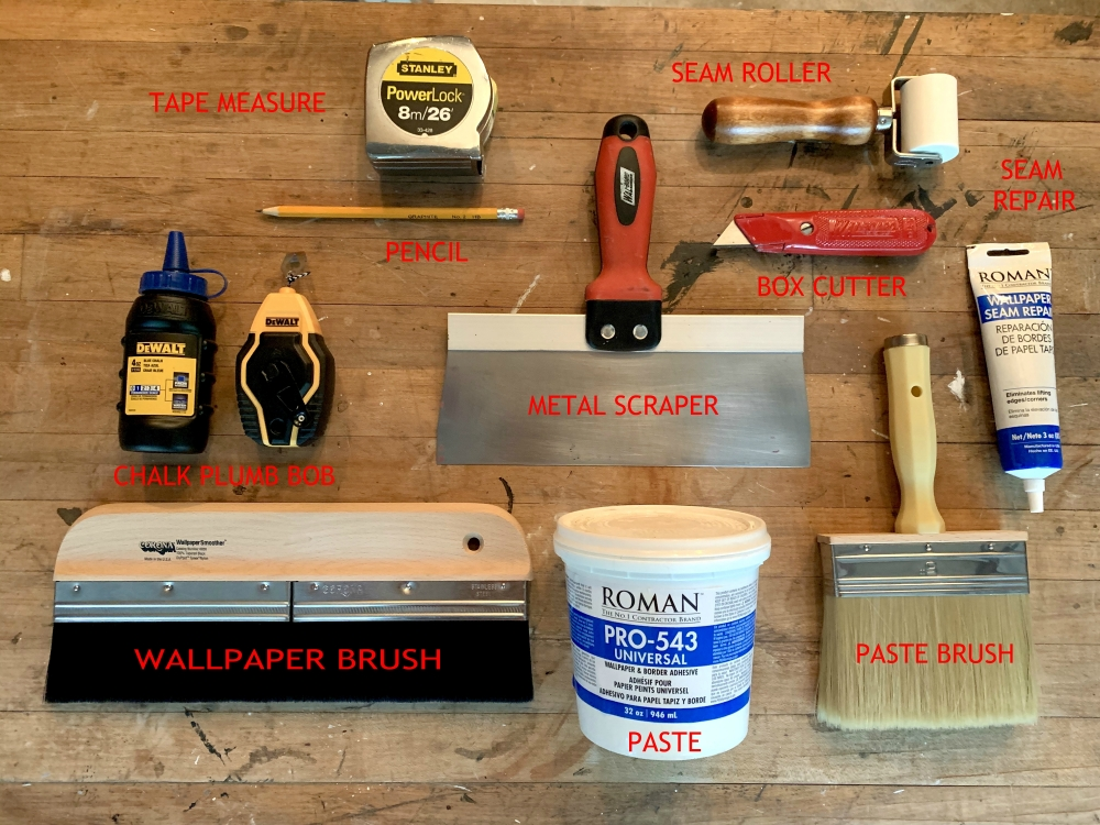 Tools for Wallpapering